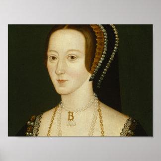 Anne Boleyn - Plakat