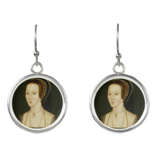Anne Boleyn - Tropfen-Ohrringe Ohrringe