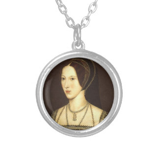 Anne- Boleynhalskette Halskette Mit Rundem Anhänger