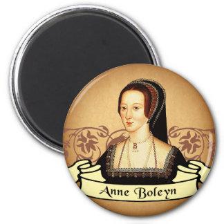 Anne- Boleynklassiker Runder Magnet 5,7 Cm