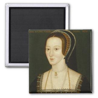Anne- Boleynmagnet Quadratischer Magnet