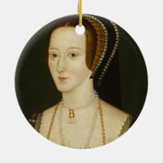 Anne- Boleynverzierung Keramik Ornament