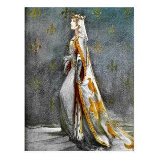 Anne von Böhmen-Postkarte Postkarte