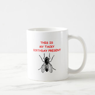 anniversaire de mauvais goût mug blanc