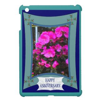 Anniversaire heureux 16 floraux coques iPad mini