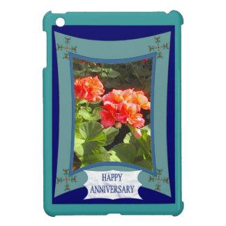 Anniversaire heureux 1 floral coques iPad mini