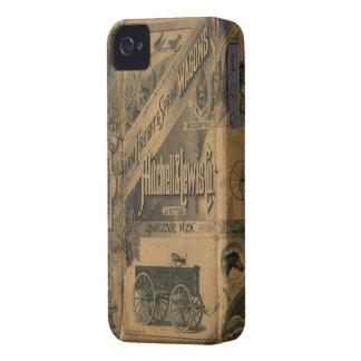 Annonces 1885 de collage de cru Blackberry Coques Case-Mate iPhone 4