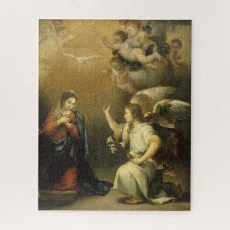 Annunctiation, religiöse Kunst-Puzzle