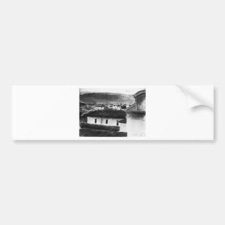 Ansicht der Dächer von Florenz durch Max Autoaufkleber