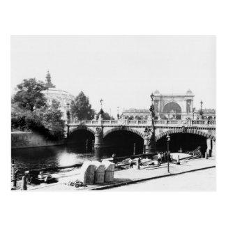 Ansicht der Moltke Brücke Postkarte