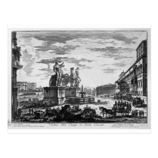 Ansicht der Spanisch-Schritte durch Giovanni Postkarte