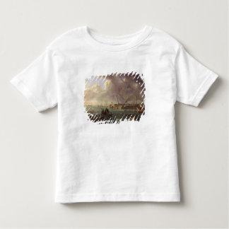 Ansicht des Hafens von Lorient Kleinkinder T-shirt