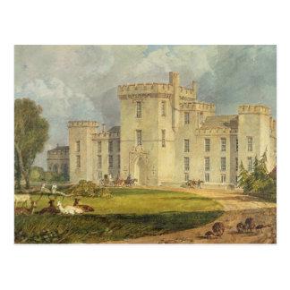 Ansicht des Hampton Court vom Nordwesten, c.1806 Postkarte