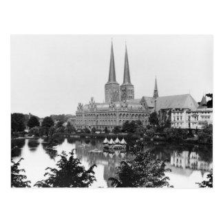Ansicht des Museums Postkarte