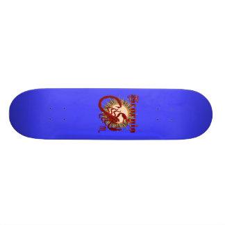 Ansicht des Tierkreis-Scorpio-Design-1 unterhalb Personalisiertes Skateboarddeck