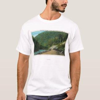 Ansicht entlang kalten Fluss der Oststeigung von T-Shirt