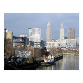 Ansicht-Postkarte Clevelands, der Ohio Postkarte