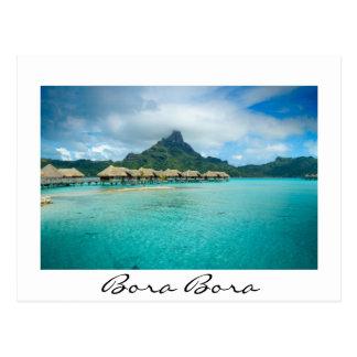 Ansicht über Bora Bora Insel Postkarte