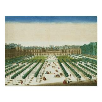 Ansicht und Perspektive des Palais Royal von Postkarte