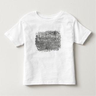 Ansicht von Antwerpen-Hafen Kleinkinder T-shirt
