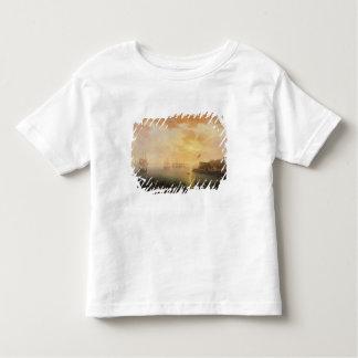 Ansicht von Brest-Hafen, 1796 Kleinkinder T-shirt