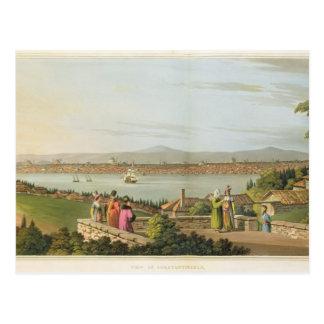 Ansicht von Konstantinopele, überziehen 1 'von den Postkarte