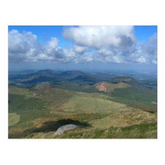 Ansicht von Puy de Dôme Postkarte