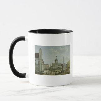 Ansicht von Rathaus, 1772 Tasse