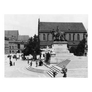 Ansicht von Schweidnitz, Breslau Polen, c.1910 Postkarte