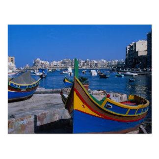 Ansicht von St. julianisch, Malta Postkarte