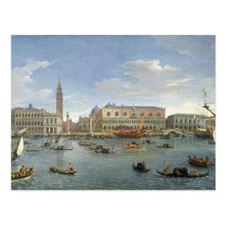 Ansicht von Venedig von der Insel von San Giorgio, Postkarte