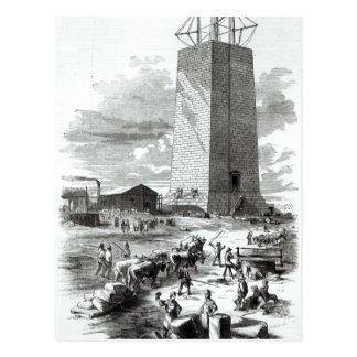 Ansicht von Washington-Monument Postkarte