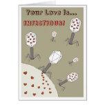 Ansteckende Liebe Karten