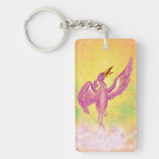 ansteigendes Phoenix, das in die Luft steigt Schlüsselanhänger