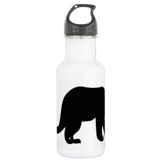 Anteater-Silhouette Trinkflasche