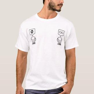 Anteil/Sozialknopf: Liebe (Nippel) T-Shirt