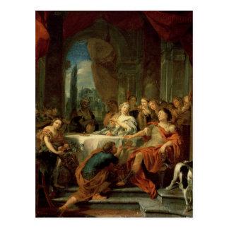 Anthony und Kleopatra Postkarte