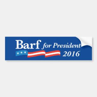 Anti-Clinton oder jemand anderer Wahlen 2016 Autoaufkleber
