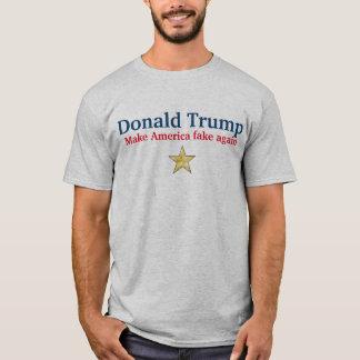 Anti-Donald Trumpf stellen Amerika-Fake wieder T-Shirt