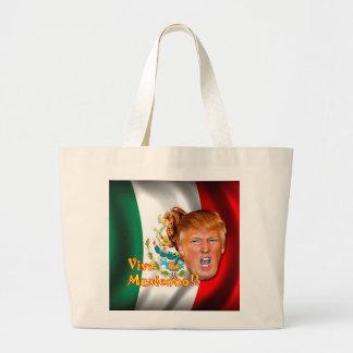 Anti-Donald Trumpf Viva Mexiko Taschentasche Jumbo Stoffbeutel