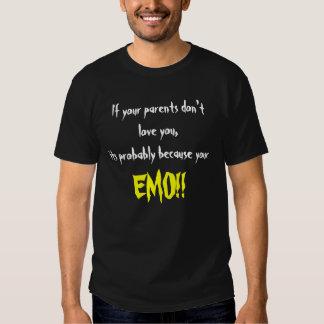 anti-EMO Tee-shirts