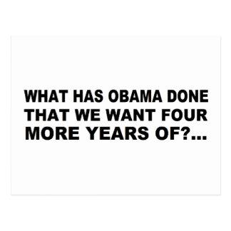 Anti - Obama-T - Shirt- und -geschenkentwurf