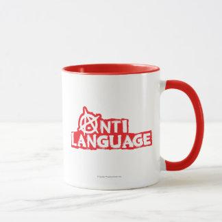 Anti-Sprache Tasse