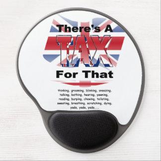 Anti-Steuer (Großbritannien-England) Gel Mousepad