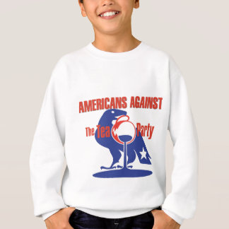 Anti-Tee Party-Adler-Strickjacke Sweatshirt
