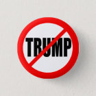ANTI-TRUMP RUNDER BUTTON 2,5 CM