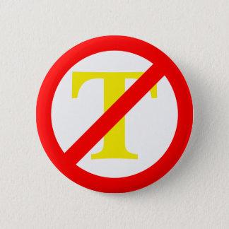 Anti-Trumpf Symbol-Knopf Runder Button 5,7 Cm