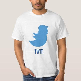 """Anti-Trumpf T - Shirt: Donald Trump """"TWIT """" T-Shirt"""