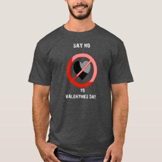 Anti-Valentinsgruß T - Shirt