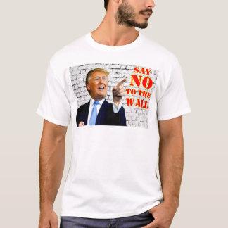 Antidonald trump lehnen das Wandt-shirt ab T-Shirt